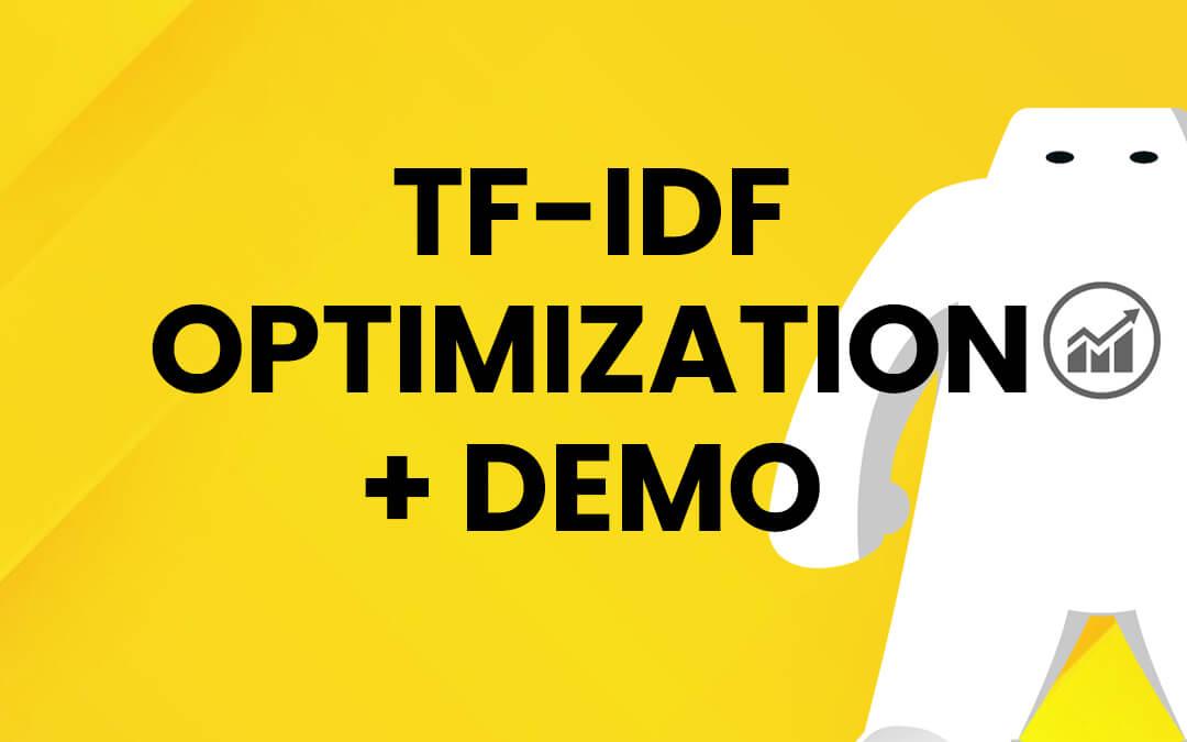TF-IDF Optimization + Demo pada Website